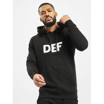 DEF Sweat capuche Til Death noir