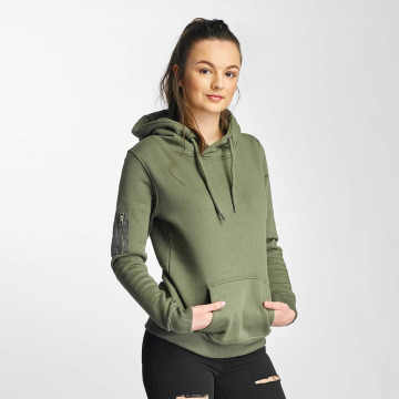 DEF Sweat capuche Upper Arm Pocket olive