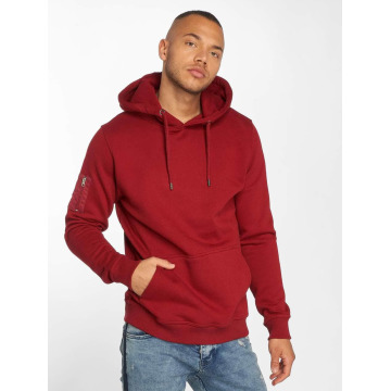 DEF Sweat capuche Upper Arm rouge