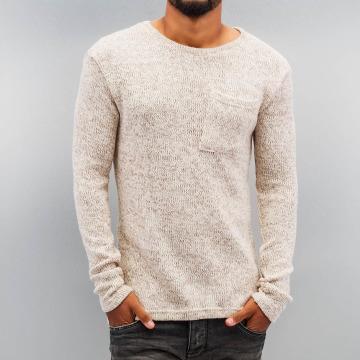 DEF Swetry Knit bezowy
