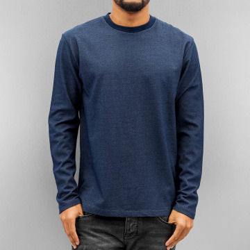 DEF T-Shirt manches longues Friedl bleu