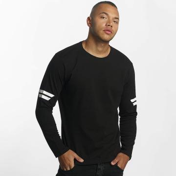 DEF T-Shirt manches longues Longsleeve noir