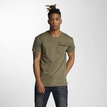DEF t-shirt Leats olijfgroen
