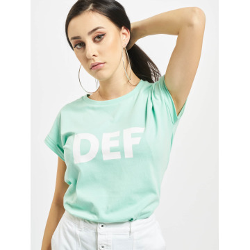 DEF T-Shirt Sizza turquoise