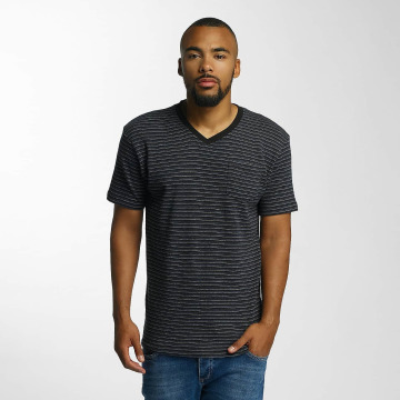 DEF t-shirt Stripes zwart