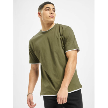 DEF T-skjorter Basic oliven