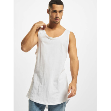 DEF Tank Tops Basic Long white