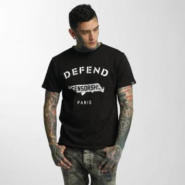 Defend Paris T-Shirt Censorship black