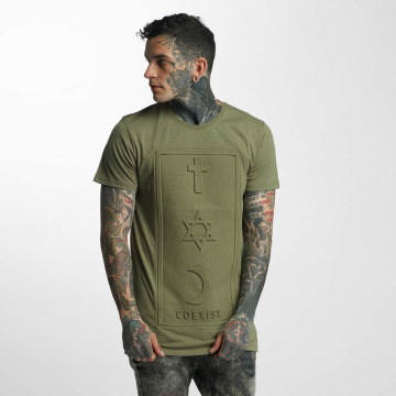 Defend Paris T-Shirty CO 3D khaki