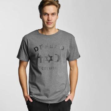 Defend Paris T-Shirty CO szary
