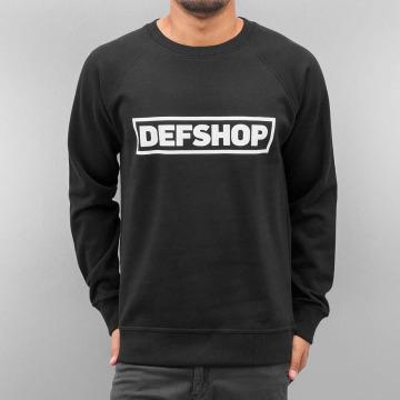 DefShop Пуловер Logo черный