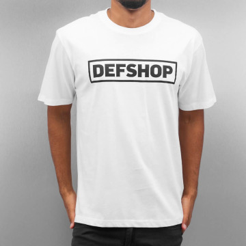 DefShop T-Shirt Logo white