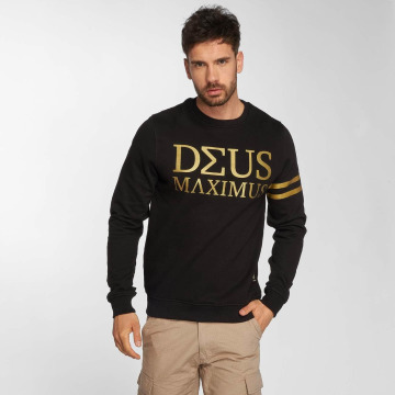 Deus Maximus Пуловер Nerio черный