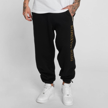 Deus Maximus Pantalone ginnico Nerio nero