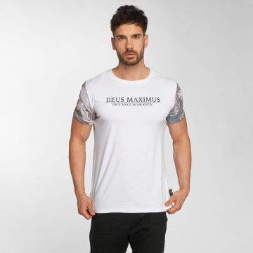 Deus Maximus T-shirt Tanatos bianco