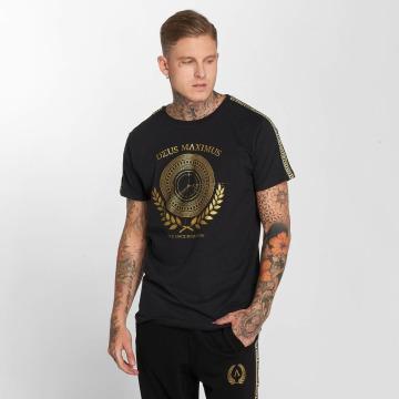 Deus Maximus T-shirt Odysseus nero