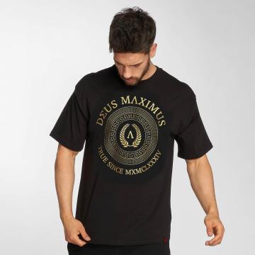 Deus Maximus T-skjorter Honor svart