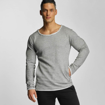 Devilsfruit Пуловер Peppe серый