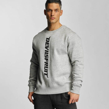 Devilsfruit Пуловер Logo серый