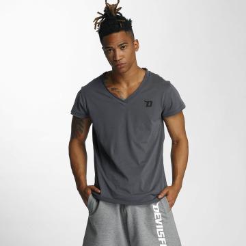 Devilsfruit Camiseta Open gris