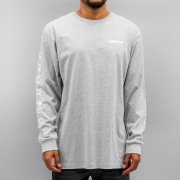 Diamond Camiseta de manga larga Marquise gris