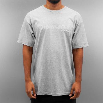 Diamond T-shirt Tonal OG Script grigio