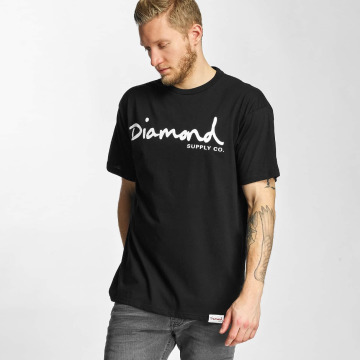 Diamond T-Shirt OG Script schwarz