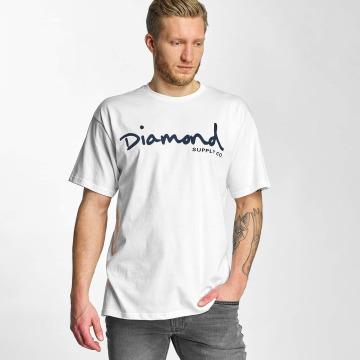 Diamond T-shirt OG Script vit