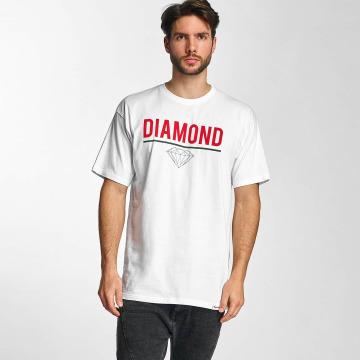 Diamond T-Shirt Strike white