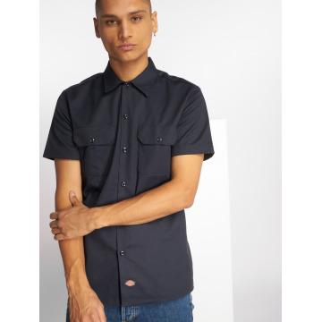 Dickies Camicia Short Sleeve Slim Work blu
