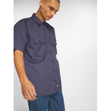 Dickies Camicia Shorts Sleeve Work blu