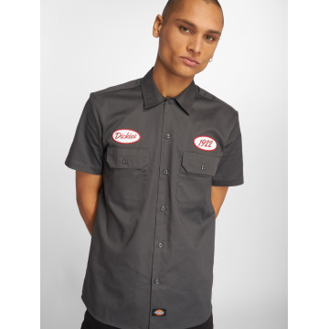 Dickies Chemise Rotonda South gris