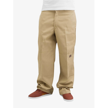Dickies Chinot/Kangashousut Double Knee Work beige