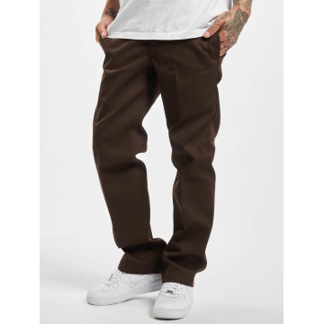 Dickies Chinot/Kangashousut Slim Straight Work ruskea