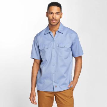 Dickies Hemd Shorts Sleeve blau