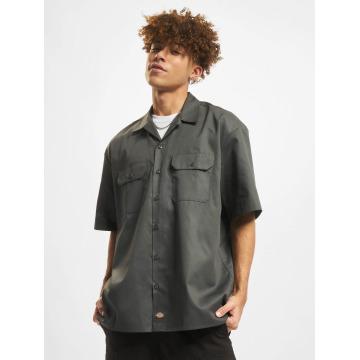 Dickies Koszule Shorts Sleeve Work szary