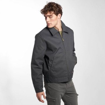 Dickies Lightweight Jacket Lined Eisenhower gray