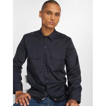 Dickies overhemd Longsleeve blauw
