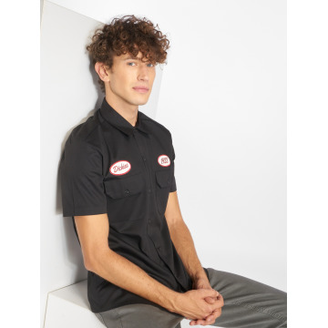 Dickies Skjorte Rotonda South sort