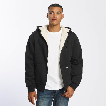Dickies Zip Hoodie Sherpa Fleece black