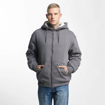 Dickies Zip Hoodie Sherpa Fleece gray