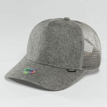 Djinns Casquette Trucker mesh Flannel gris