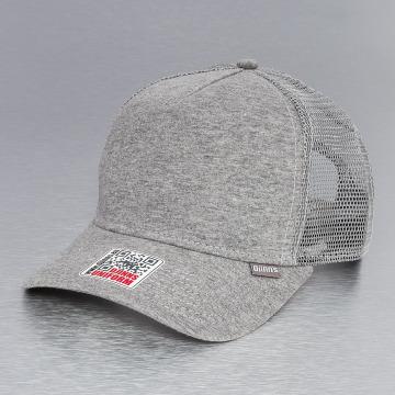 Djinns Casquette Trucker mesh Cut & Sew High Fitted gris