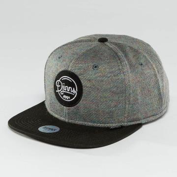 Djinns Snapback Cap Spots Duplex grau
