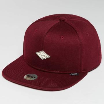 Djinns snapback cap 6 Panel Jersey Pin rood
