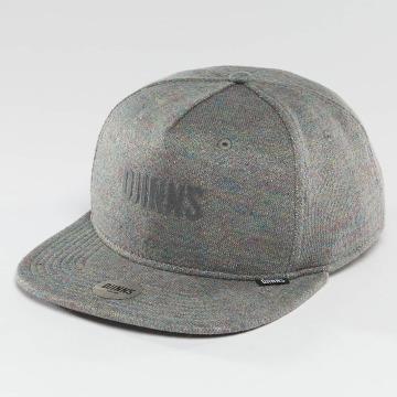 Djinns Snapback Caps Multi Melange harmaa