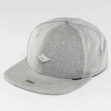 Djinns Snapback Caps Change 6 Panel harmaa