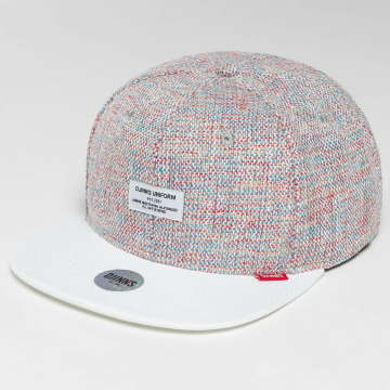 Djinns Snapback Caps 6 Panel Colored Linen hvid