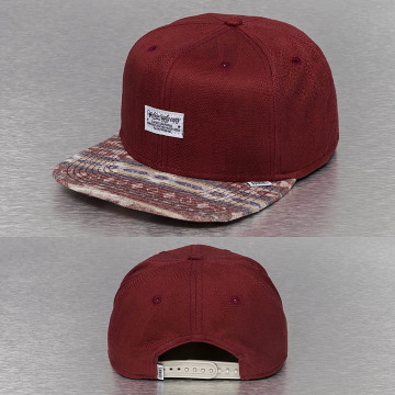 Djinns Snapback Caps Aztec And Structure red