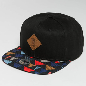 Djinns Snapback Caps TriCord 6 Panel sort